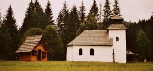 Kostolík zo zborova nad Bystricou